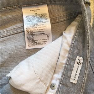Banana Republic Pants - Banana Republic Skinny Gray Jeans size 29